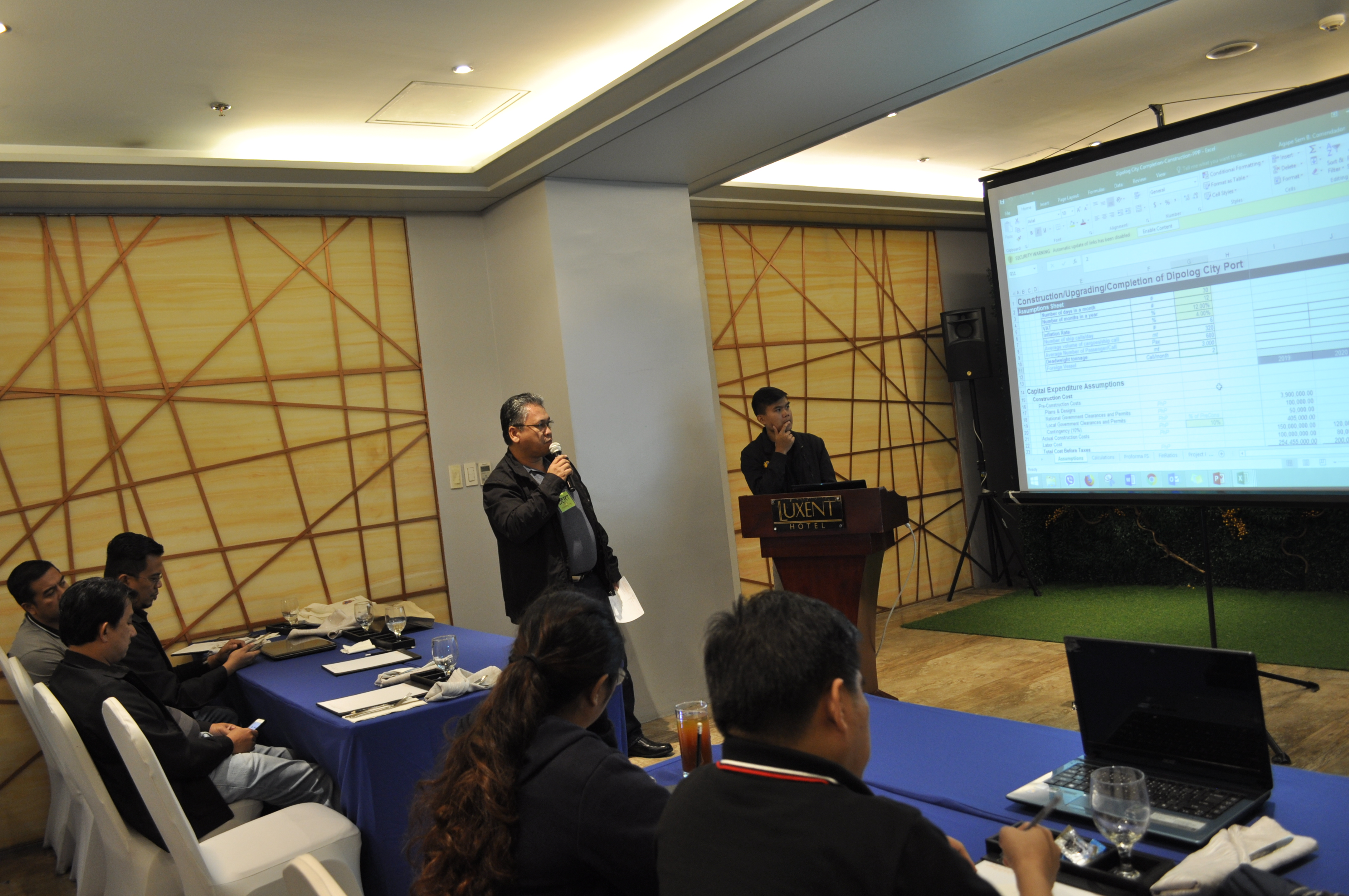 The Public Private Partnership Center Of Philippines PPP A Financial Modelling Training Was Conducted On 7 10 August 2018 In Quezon City